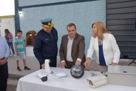 Se inauguró un destacamento de Bomberos Zapadores en San Benito