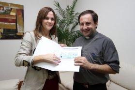 La escuela Santa Rita de Cascia, de María Grande, recibió aportes para finalizar obras