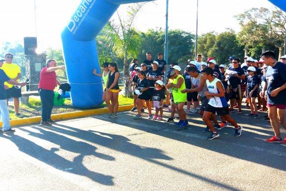 La provincia presente en la Maratón por Gisela López en Santa Elena