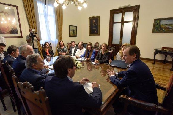 Bordet pidió agilizar los tiempos administrativos para la ejecución de obras