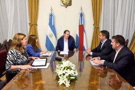 Bordet analizó el estado de obras y gestiones para Pueblo General Belgrano