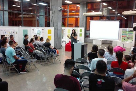 El CGE brindó un taller de cine sobre ambiente para estudiantes de Jóvenes y Adultos