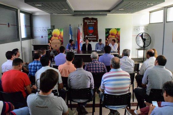 Se reunió la Mesa de competitividad forestal en Federación