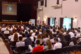 Se realizó un taller para estudiantes de escuelas secundarias de Paraná