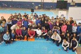 Se realizó una capacitación sobre arbitraje de handball escolar