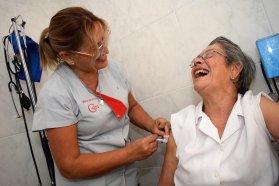 Mediante acciones en terreno y capacitaciones se celebra el Día Internacional de la Enfermería