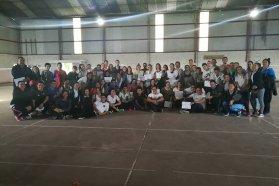 El CGE realizó una capacitación en Badminton Escolar Inclusivo en Villa Paranacito