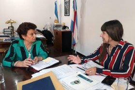 La ministra Velázquez se reunió con legisladores de Feliciano y Uruguay