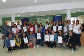 El gobierno provincial entregó escrituras de viviendas a 270 familias de Colón y San José