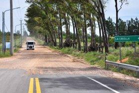 Concluyeron los arreglos en el acceso a La Criolla