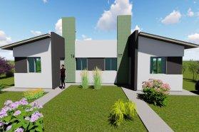 Con fondos provinciales se construirán 10 viviendas en Villa Domínguez