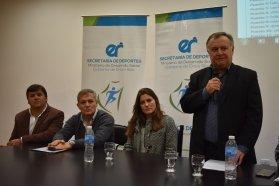 Se realizó una reunión de trabajo para definir pautas organizativas rumbo a los Juegos Evita