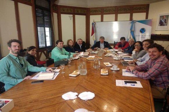 Se avanza en la organización de la XIII Reunión Institucional de la Región Centro