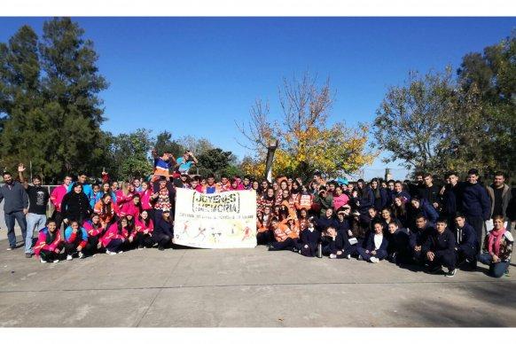 Se presentó Jóvenes x la Memoria en La Paz