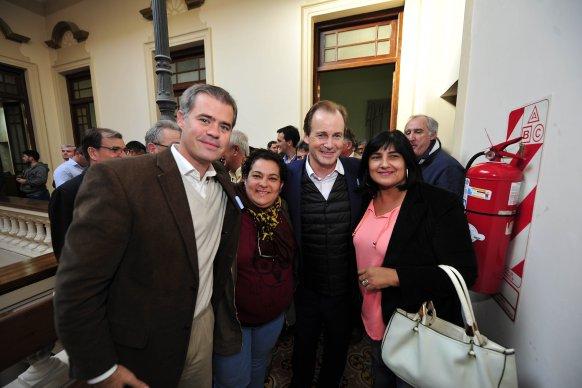Bordet destacó la agenda de trabajo común con Gualeguaychú