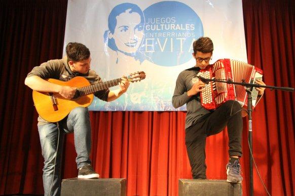 Convocan a participar en los Juegos Culturales Entrerrianos Evita