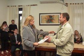 El gobierno entregó aportes para juntas por 1 millón de pesos en el departamento Feliciano