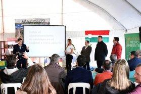 La provincia acompañó el lanzamiento del programa de separación y recolección de residuos urbanos de Nogoyá