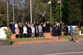 El gobierno provincial participó de la puesta en función del segundo Jefe del Ejército