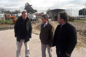 La provincia avanza en el plan de obras para la ciudad de Nogoyá