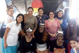 Docentes que asisten a niños con problemas de salud realizaron una jornada educativa en el hospital San Roque
