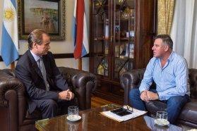 El gobernador analizó la situación del instituto del seguro provincial
