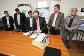 Se abrieron los sobres para la readecuación de la planta de tratamiento de efluentes cloacales en Nogoyá