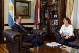 Territorialidad e impulso del nivel superior en la agenda del gobernador para la política de becas provincial