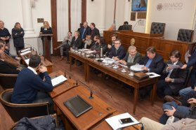 Romero presentó el proyecto de reforma electoral en el Senado