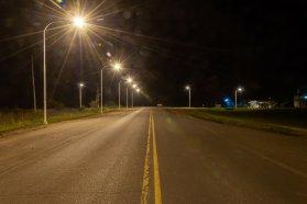 Se habilitó la iluminación en el acceso a Boca del Tigre