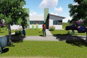 Son 10 nuevas viviendas las que se ejecutarán con recursos provinciales en Estancia Grande