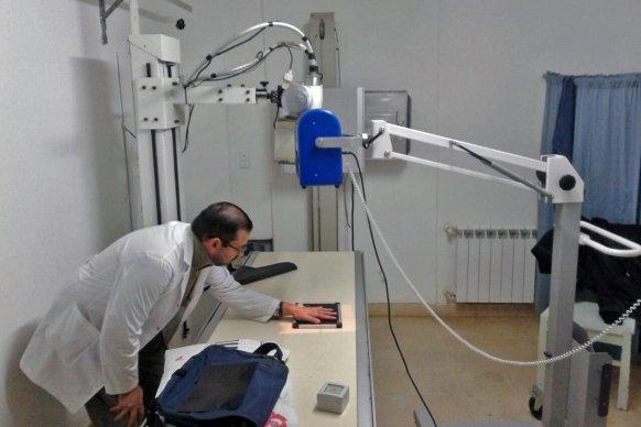 Entregaron equipamiento para los hospitales de Seguí y Larroque