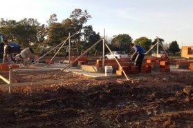 Están en obra las primeras viviendas del programa provincial Primero Tu Casa