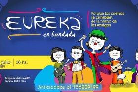 El espectáculo musical Eureka en bandada se presenta en la Vieja Usina