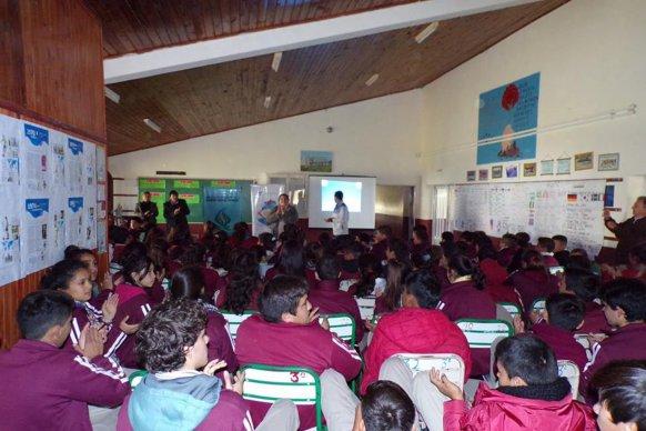 Niños, jóvenes y adultos participaron de las jornadas sobre Olimpismo en Feliciano