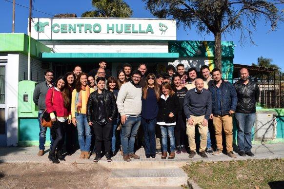 La ministra de Salud visitó el Centro Huella