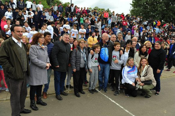 Miles de chicos celebraron el Día del Olimpismo con actividades deportivas y recreativas