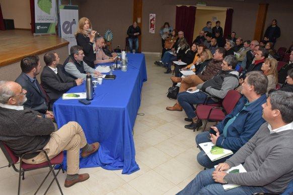 La Ley de Comunas fue debatida en la región Norte de Entre Ríos