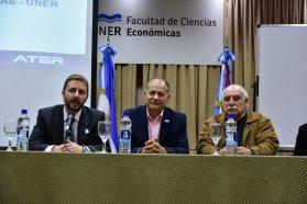 La Universidad y la ATER analizan acciones contra la evasión