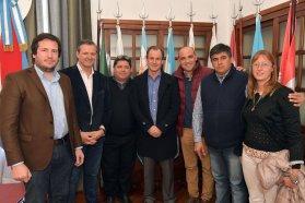 Bordet firmó el inicio de la construcción de la escuela técnica N° 4 en Larroque