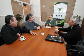 La provincia firmó un convenio con el colegio de Ingenieros Especialistas para capacitación y formación