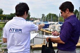 Se avanza con Prefectura en la regularización tributaria de propietarios de embarcaciones