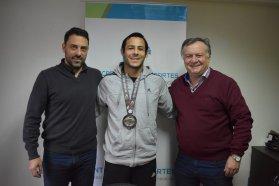 El gobierno provincial recibió al subcampeón Mundial de Jiu Jitsu