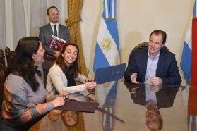 Bordet ratificó el respaldo del Estado a las entidades deportivas