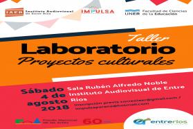 Entrerrianos podrán formarse en gestión cultural y desarrollo de proyectos
