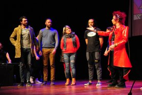 Este fin de semana actores entrerrianos con Mosquito Sancineto en Match de Improvisación teatral