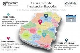Alumnos y docentes se preparan para las ferias escolares en Entre Ríos