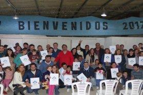 La provincia entregó escrituras en Ibicuy y Gualeguaychú