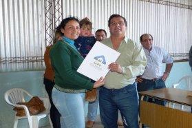 La provincia entregó escrituras de viviendas en tres localidades del departamento Federación