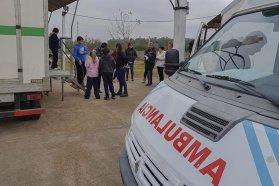 Realizan controles de salud a chicos de escuelas urbanas y rurales de Feliciano